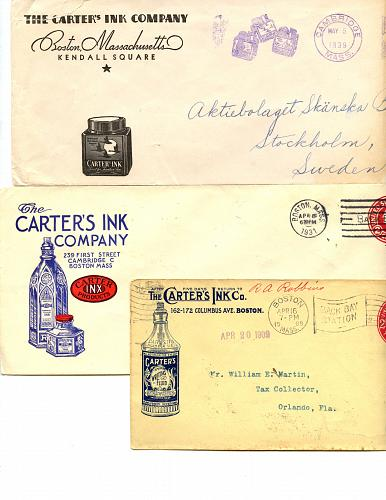 LISTING CLOSED - SOLD Pen & Ink Related - 1880s - 1950 - About 22 Items