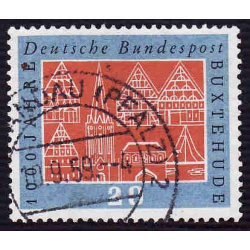 German Used Scott #801 Catalog Value $.40