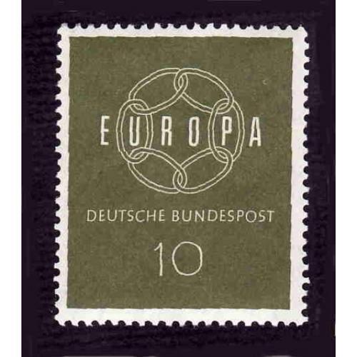 German Hinged Scott #805 Catalog Value $.25