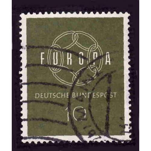 German Used Scott #805 Catalog Value $.25