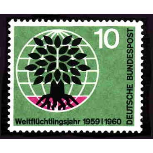 German MNH Scott #807 Catalog Value $.25