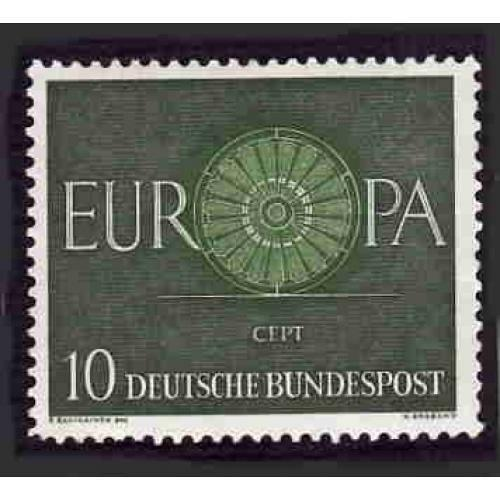 German MNH Scott #818 Catalog Value $.25