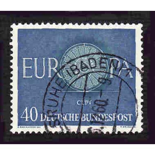 German Used Scott #820 Catalog Value $1.00
