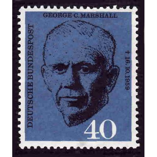 German MNH Scott #821 Catalog Value $2.75