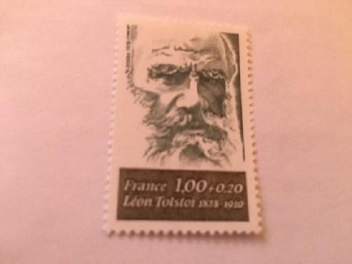 France Famous Leon Tolstoi writer mnh 1978