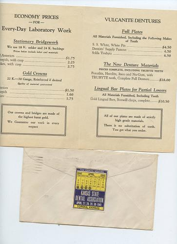 Dental-Related - From 1920s - 1960 - 25 Items