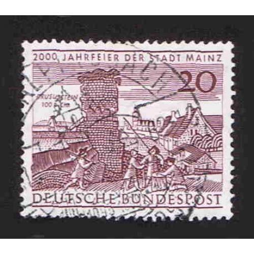 German Used Scott #848 Catalog Value $.35