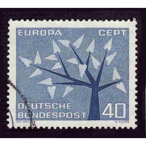 German Used Scott #853 Catalog Value $.55