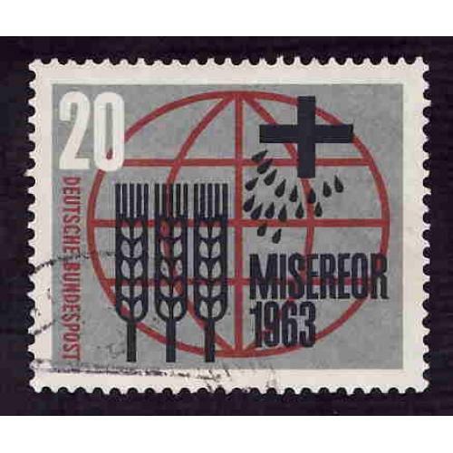 German Used Scott #856 Catalog Value $.40