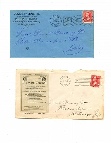 LISTING CLOSED - SOLD - Brewery Suppliers - 1870s - 1900s - 12 Items