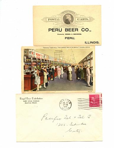 LISTING CLOSED - SOLD - Beers - USA & Some Foreign -1890s - 1950 - 22 Items