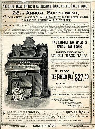 - Music & Related - Vintage - 1890s - 1940s