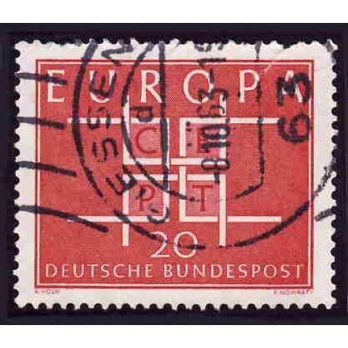 German Used Scott #868 Catalog Value $.25