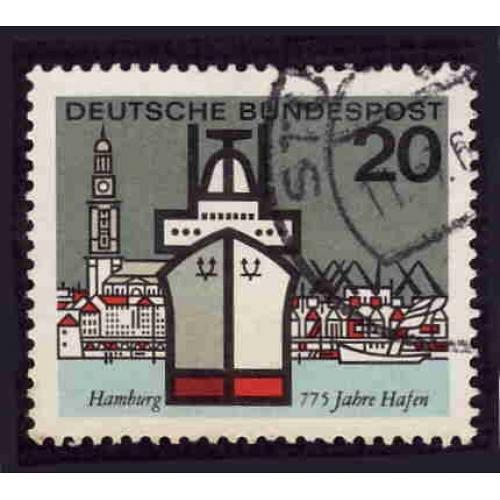 German Used Scott #870 Catalog Value $.30