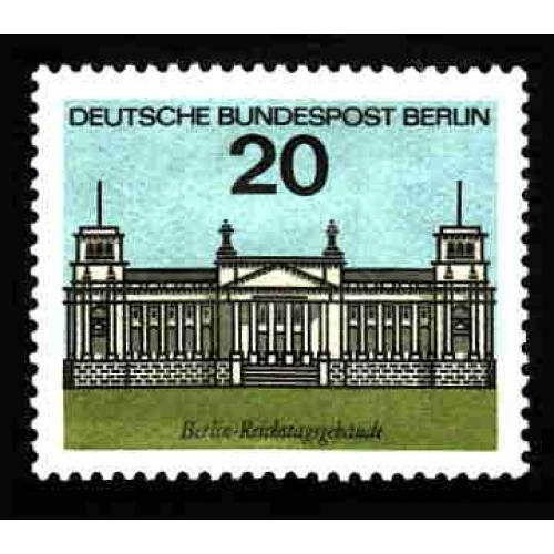 German MNH Scott #874 Catalog Value $.25