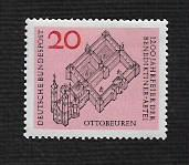 German Hinged Scott #880 Catalog Value $.25