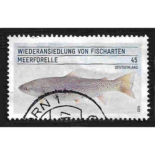 German Used Scott #2812 Catalog Value $.55
