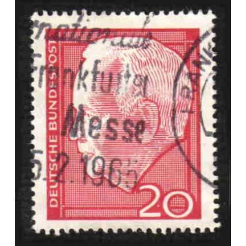 German Used Scott #881 Catalog Value $.25