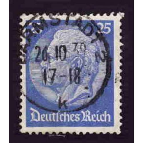 German Used Scott #425 Catalog Value $.40