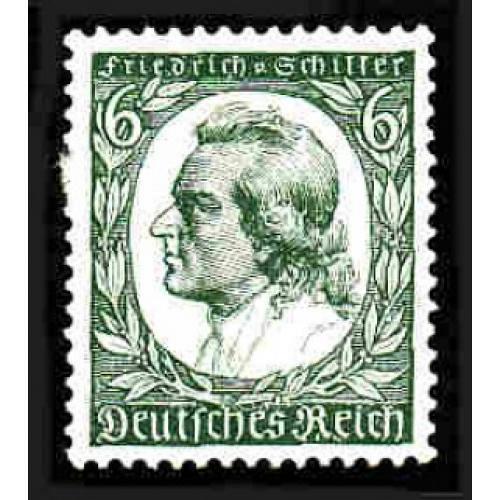 German Hinged Scott #446 Catalog Value $2.00