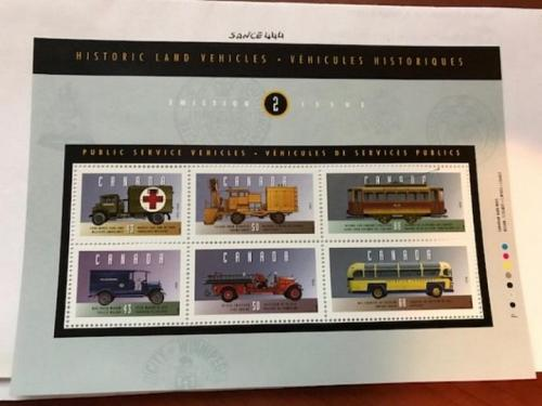 Canada Commercial vehicles m/s mnh 1994