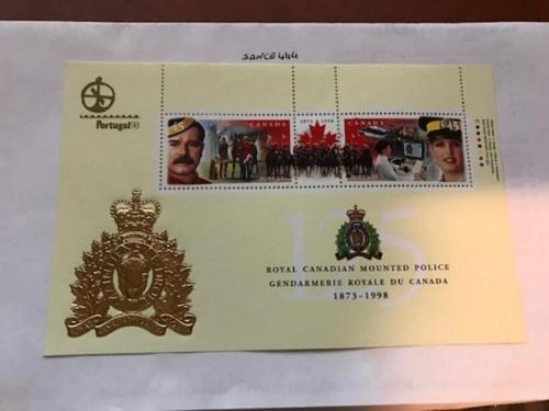 Canada Mounted police s/s Portugal mnh 1998