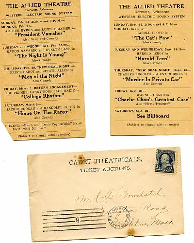 Theatre - From 1890s - 1940s