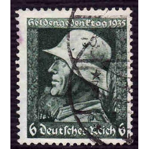 German Used Scott #452 Catalog Value $1.60