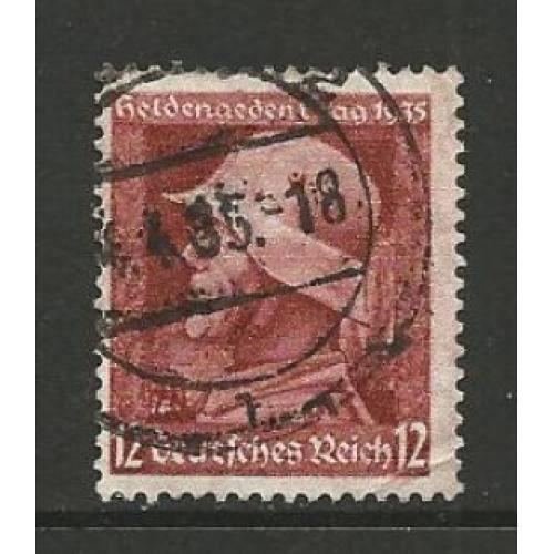 German Used Scott #453 Catalog Value $1.60