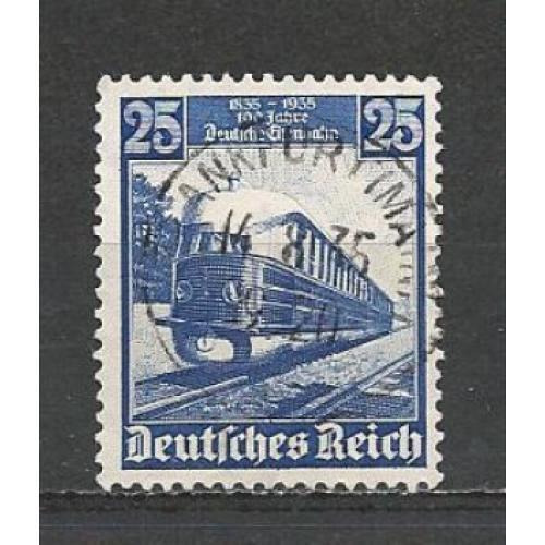 German Used Scott #461 Catalog Value $1.90