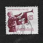 German Used Scott #464 Catalog Value $3.25