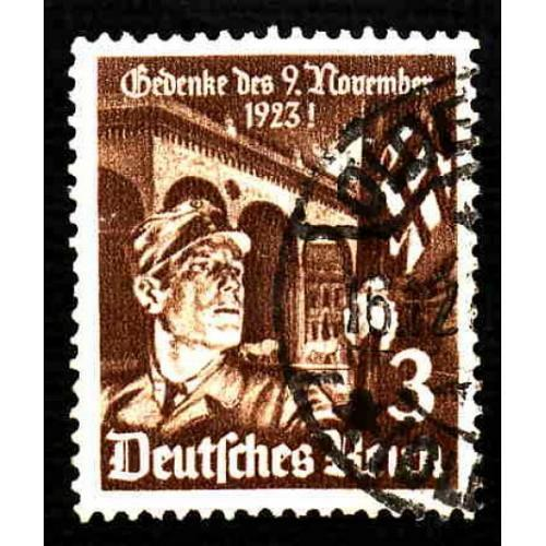 German Used Scott #467 Catalog Value $.70