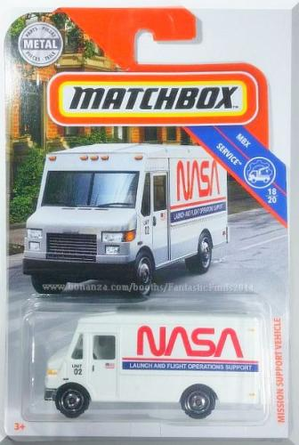 Matchbox - Mission Support Vehicle: MBX Service #18/20 - #88/100 (2019) *White*