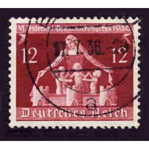German Used Scott #475 Catalog Value $.60