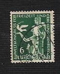 German Used Scott #477 Catalog Value $.55