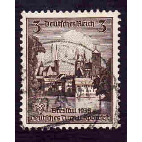 German Used Scott #486 Catalog Value $.55