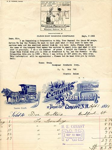 Washing Machines - Vintage Scarce Companies - Early 1900s - See Scans