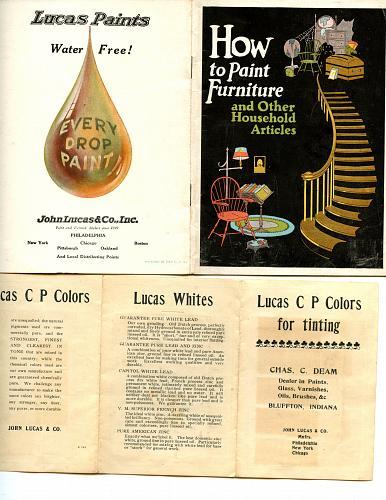- Paint Companies - Devoe - Lucas -Senour - Atlas