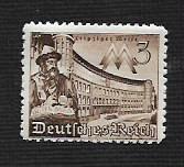 German Hinged Scott #494 Catalog Value $.45