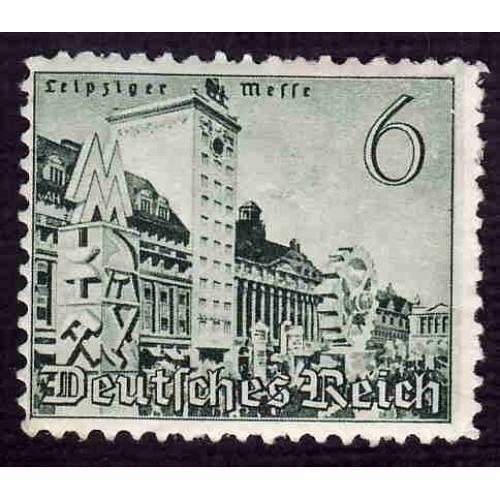 German Hinged Scott #495 Catalog Value $.45