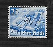 German Hinged Scott #497 Catalog Value $1.10