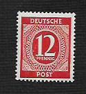 German MNH Scott #538 Catalog Value $.25