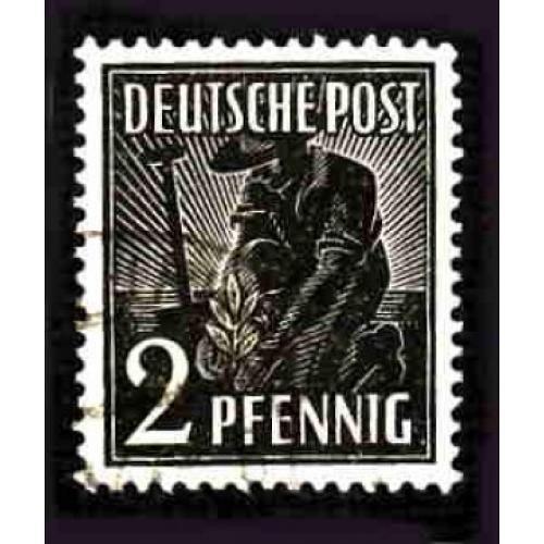 German Used Scott #557 Catalog Value $.40