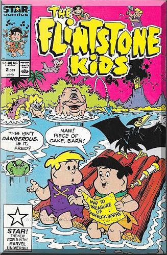 The Flintstone Kids #2 (1987) *Copper Age / Star Comics / Marvel Comics*