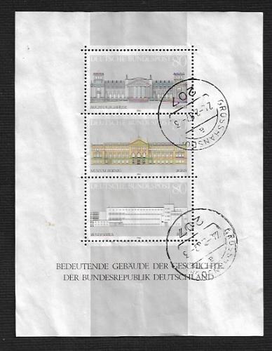 German Used Scott #1466 Catalog Value $3.75