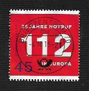 Germany Used Scott #2895 Catalog Value $.50