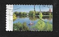 German Used Scott #3050 Catalog Value $.55