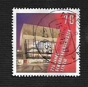 German Used Scott #3037 Catalog Value $.85