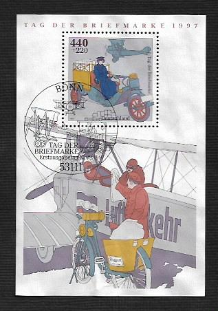 German Used Scott #B819 Catalog Value $7.75