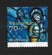 German Used Scott #B1149 Catalog Value $2.25